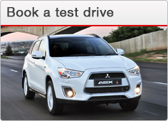 Book a Test Drive at Barloworld Mitsubishi